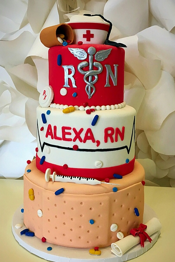 Images Of Cakes For Nurses