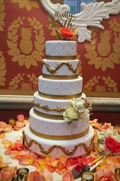 elegant-gold-and-orange-wedding-cake_johnsons-custom-cakes