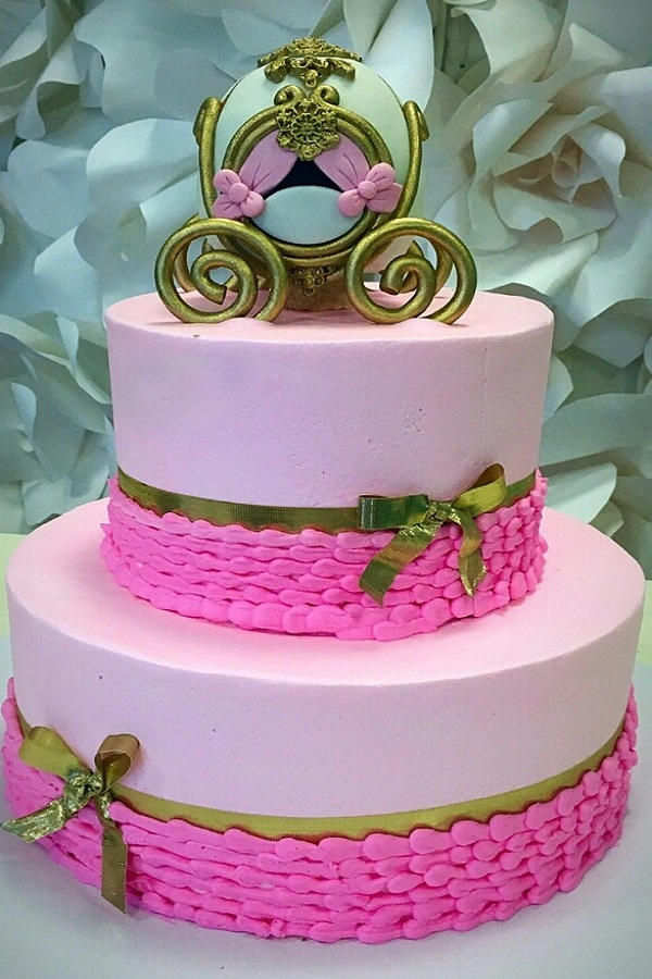 Pink Princess Cake Johnsons Custom Cakes