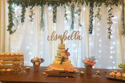 isabella cake and dessert buffet