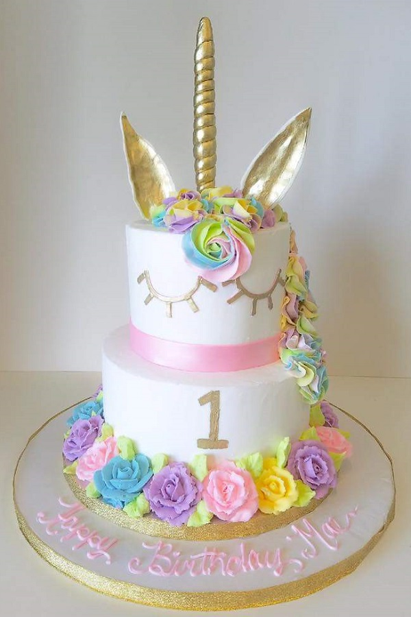 Unicorn Birthday Cake Johnson S Custom Cakes